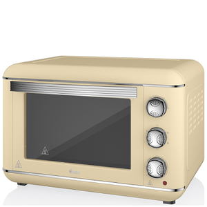 Swan SF37010CN 23L Retro Cream Electric Oven - Cream