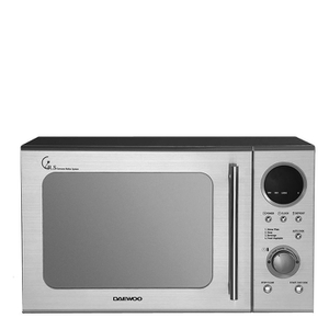 Daewoo KOR3000DSL 20L Stainless Steel Microwave - Metallic