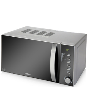 Tower T24007 800W Digital Microwave - Metallic