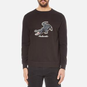 Maharishi Men's Croc Crew Neck Sweatshirt - Black