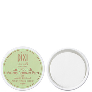 PIXI Lash Nourish Make-Up Remover Pads (pakke med 80)