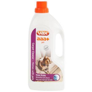 Vax 1913270200 1.5L Aaa+ Carpet Cleaning Solution - White