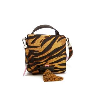 KENZO Women's Runway Small Top Handle Bag - Leopard