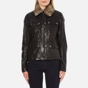 Belstaff Women's Attebury Leather Jacket - Black