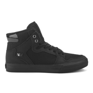 Supra Men's Vaider High Top Trainers - Black