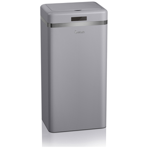 Swan Retro Square Sensor Bin - Grey (45L)
