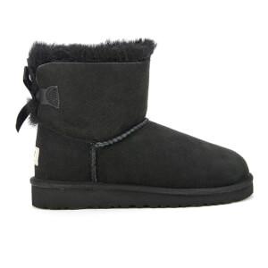 UGG Kids' Mini Bailey Bow Boots - Black