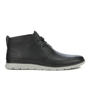 UGG Men's Freamon Grain Leather Desert Boots - Black