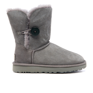 UGG Women's Bailey Button II Sheepskin Boots - Grey