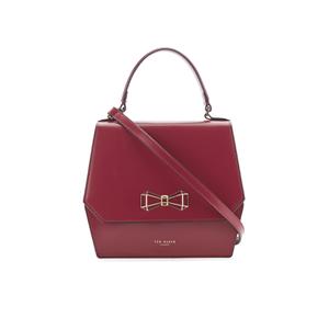 Ted Baker Women's Gerri Geometric Bow Top Handle Bag - Purple