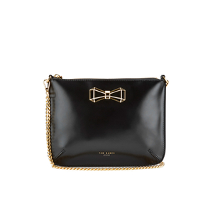 Ted Baker Women's Gretaa Geometric Bow Crossbody Bag - Black