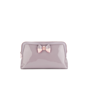 Ted Baker Women's Madlynn Bow Large Wash Bag - Mid Purple