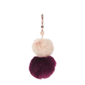 Ted Baker Women's Renah Fur Bag Charm - Nude Pink
