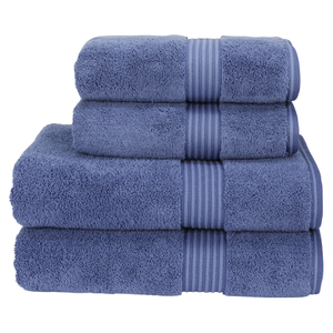 Christy Supreme Hygro 4 Piece Bath Towel & Bath Sheet Bundle - Deep Sea