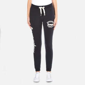 Superdry Women's Super Skinny Applique Joggers - Eclipse Navy