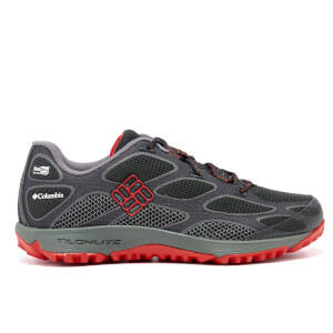 Columbia Men's Conspiracy IV Outdry Hiking Shoes - Black/Bright Red
