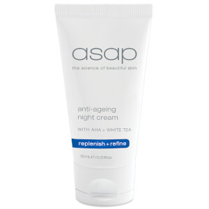 FREE asap anti-ageing night cream 15ml