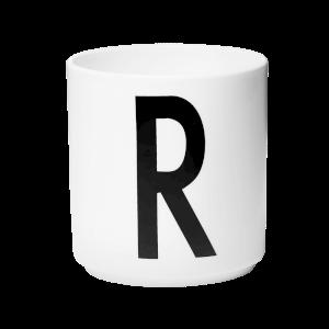 Design Letters Porcelain Cup - R
