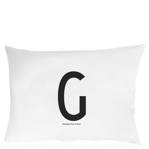 Design Letters Pillowcase - 70x50 cm - G