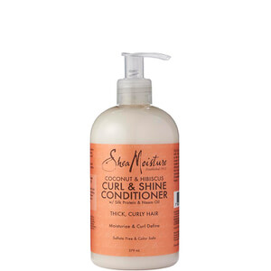 Shea Moisture Coconut & Hibiscus Curl & Shine Conditioner Кондиционер для волос 379мл