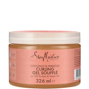 Shea Moisture spuma-gel per capelli ricci al cocco e ibisco 326 ml