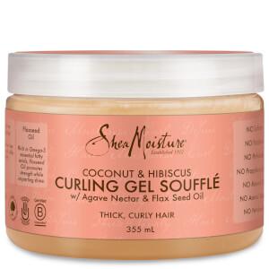 Shea Moisture Coconut & Hibiscus Curling Gel Soufflé Żel do stylizacji włosów 326 ml