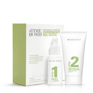 Time Bomb Overnight Peel and Reveal trattamento esfoliante notte in due fasi (25 ml/40 ml)