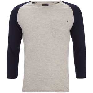 Produkt Men's 3/4 Sleeve Raglan Top - White Melange