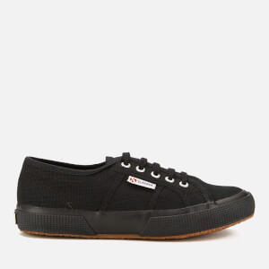 Superga Kids' 2750 Jcot Classic Trainers - Full Black