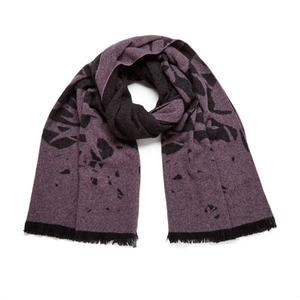 McQ Alexander McQueen Women's Swallow Scarf - Electric Pink/Black