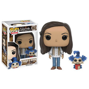 Labryinth Sarah with Worm Funko Pop! Figuur
