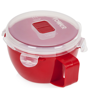 Tower T90814R Microwave Noodle Bowl 940ml