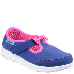Skechers Toddlers' Go Walk Bow Shoes - Blue