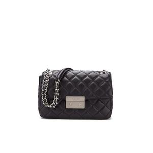 MICHAEL MICHAEL KORS Women's Sloane Large Chain Shoulder Bag - Black