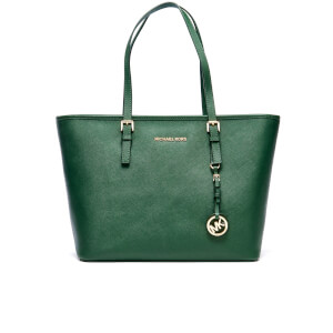 MICHAEL MICHAEL KORS Women's Jet Set Travel TZ Tote Bag - Moss