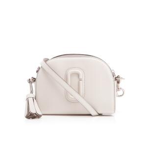 Marc Jacobs Women's Shutter Leather Shoulder Cross Body Bag - Dove