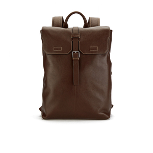 Ted Baker Men's Earth Leather Backpack - Dark Tan