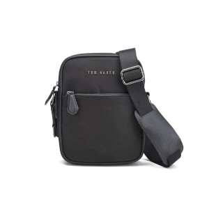 Ted Baker Men's Nail Nylon Flight Bag - Black