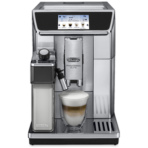 De'Longhi ECAM650.75.MS Primadonna Elite Coffee Maker - Silver