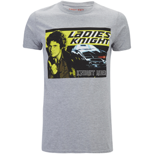 T-Shirt Knight Rider Ladies Knight - Gris Chiné