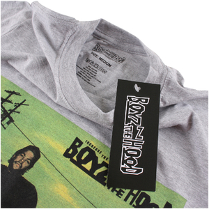Boys In The Hood Men's Photo T-Shirt - Grey Marl: Image 2