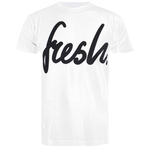 Cotton Soul Men's Fresh Mono T-Shirt - White
