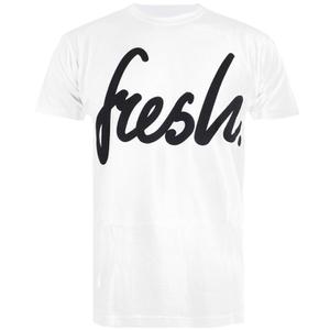 Cotton Soul Men's Fresh Mono T-Shirt - White