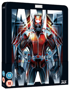 Ant-Man 3D (Includes 2D Version) - Zavvi UK Exclusive Lenticular Edition Steelbook