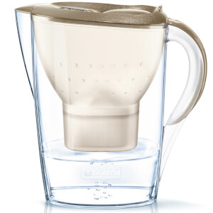 BRITA Marella Cool Water Filter Jug - Gold Glitter (2.4L)