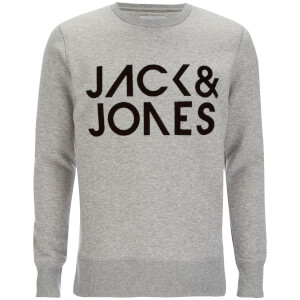 Sweat Jack & Jones pour Homme Core Sharp -Gris Clair