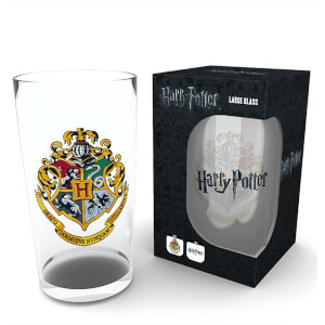 Harry Potter - Large Glasses 500ml - Crest