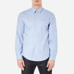 BOSS Green Men's C-Buster Long Sleeve Shirt - Blue