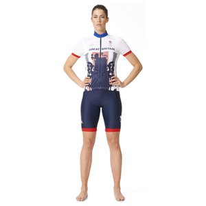 adidas Women's Team GB Replica Training Cycling Shorts - Blue