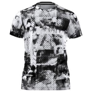 adidas Men's Climachill Training Graphic T-Shirt - Black/White